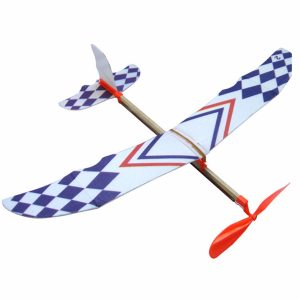 10 st DIY Skum Elastiskt drivet Glider Plane Toy Thunderbird Flying Model Aircraft Toy