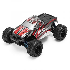 PXLeksaker 1/18 2.4G 4WD Sandy Land Monster Truck HJ209131 RC Bil
