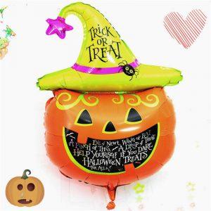 Halloween Pumpa Dekorativ Ballonger För Fest