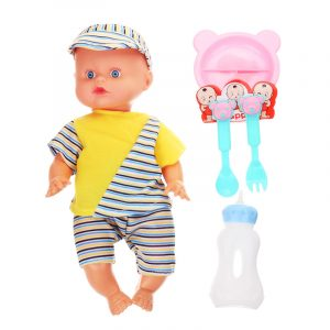 12Inches Lifelike Baby Dockas Smart Med Ljud Drinkwater Peeing Sleeping Action Figurleksaker