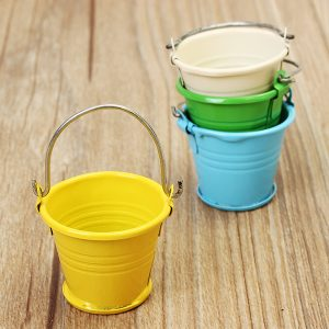 1:12 Barn Mini Bucket Modell House Property Doll Creative DIY En speciell present till barn