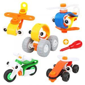 Kreativ sammansatt mutterkombination Leksaker