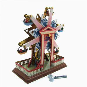 Sky Steel Classic Vintage Clockwork Vind upp barnen barns Tin Leksaker With Key
