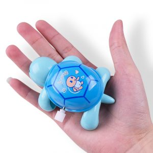 Cute Cartoon Animal Clockwork Sköldpadda Mini Crawling Wind Up Kids Educational Classic Toy Slumpmässig Färg