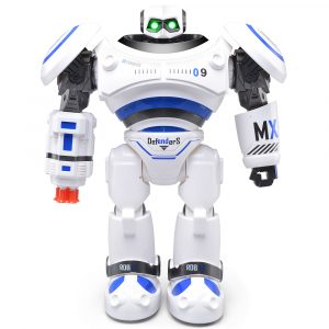 JJRC R1 AD Polis Filer Programmerbar Combat Defender Intelligent RC Robot