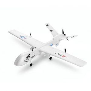 XK A110 Predator MQ-9 EPP 565mm Wingspan 2.4G 3CH DIY Glider RC Flygplan RTF Inbyggd Gyro