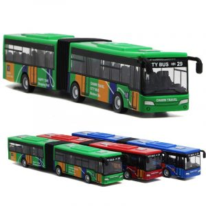 "18.5cm 7.3 ""Alloy Bus 1:32 Diecast Modell Toy Toy Modell barn Present House Play Toy"