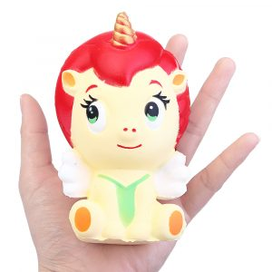 Unicorn Girls Squishy 11.5CM Jumbo Långsam Rising Rebound Leksaker Med Packaging Present Collection