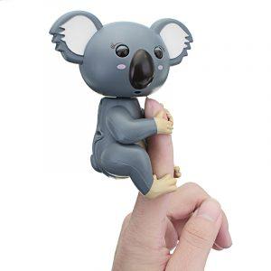 Söt Interaktiv Baby Fingrar Koala Smart Färgrik Induktions Elektronik Pet Toy För Barn Present