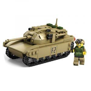 Tank Team Pedagogiska Bygga Blockera Uppsättning Leksaker