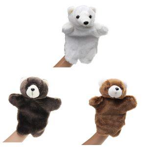 27cm fylld djurbjörn fairy tal hand handduk klassiska barn figur leksaker plysch