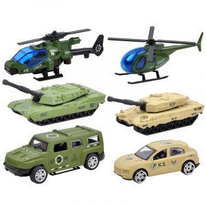 3st Modell Leksaker Plane bil Racing Militärlegering Fordonsteknik Modellbyggnad Present Decor