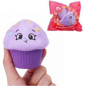 biltoon Ice Cream Squishy 8 CM långsammare med Packaging Collection Present Soft Toy