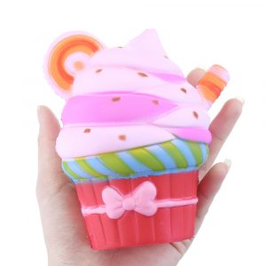 Squishy Ice Cream Cup Cake 12,5cm långsammare Rebound Leksaker med Packaging Collection Present