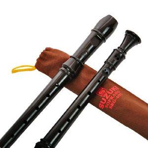 Musikinstrument SRG-405 Tyska 8-håls klarinettsoprano-inspelare