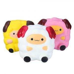 Squishy Sheep Lamb 12cm Jumbo Soft Slow Rising Collection julklappleksaker