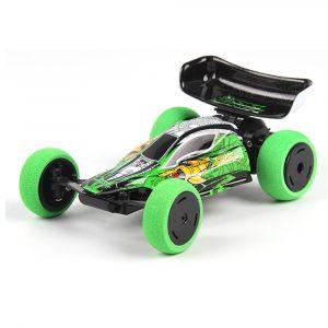 1/32 2.4G 6CH RC Bil Mini Trickbil med LED-ljus