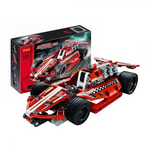 158st Byggstenar Technic Racing bil Barn Modellleksaker