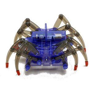 Pussel Elektrisk Spindel Robot Toy DIY Pedagogiska Assembles Leksaker