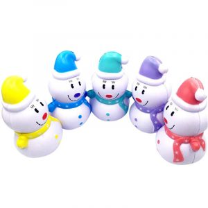 SWEETY Squishy Snowman Christmas Slow Rising Kawaii Squishy 12cm Doftleksaker