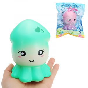 Cutie Creative Bläckfisk Squishy 15,5cm långsammare  Collection Present Decor Toy