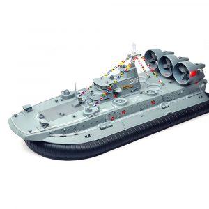 Brushless Warship RC Båt 2.4G 1/110 Ship Modell HG-C201 Landning och vatten Air Push Landing Craft