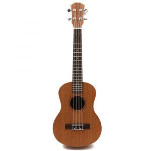 26 tum 4 strängar Professionell Tenor Ukulele Hawaii Guitar Sapele 18 Fret