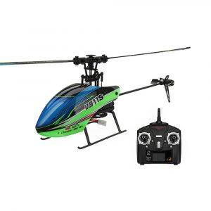 WLLeksakers V911S 2.4G 4CH 6-Aixs Gyro Flybarless Radiostyrda Helikopter RTF