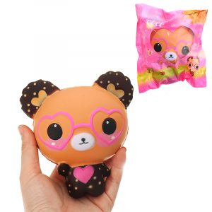 Bear Squishy 15cm långsammare med Packaging Collection Present Soft Toy