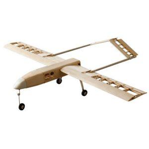 DW Wing RQ7 RQ-7 Skugga 2000mm Wingspan Balsa Wood RC Flygplan KIT