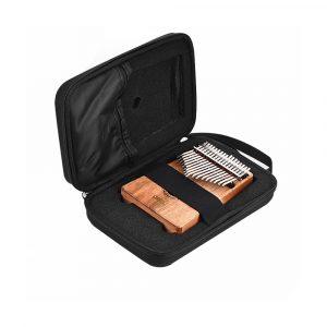 10 Keys 17 Keys Kalimba Case Thumb Piano Mbira Bärbar Väska