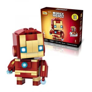 144st Super Hero Små tegelstenar Blockerar Leksaker