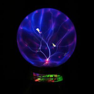 5 tums muskelspaltbollsfärg ljus kristallljus magisk skrivbordslampa nyhet blått ljus heminredning