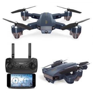 FQ777 FQ35 WiFi FPV med 720P HD-kamera Höjdhållningsläge Fällbart RC drönare Quadcopter RTF