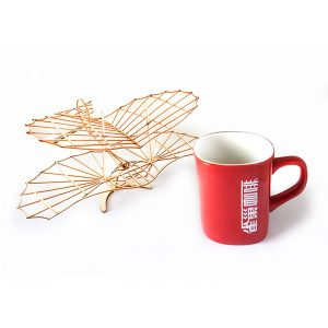 DIY Lilienthal Glider Static Furnishing Artiklar Dekorationsprydnad RC Flygplan Kit