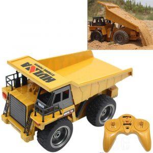 Radiostyrd RC Bil, Dump Truck AlloyTeknik Fordon