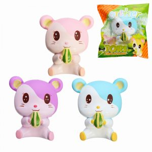 Oriker Squishy Tori Hamster 12cm Mjuk Sweet Slow Rising  Collection Present Decor Toy