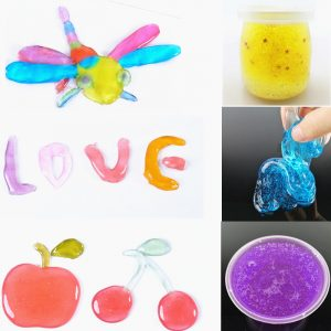 Crystal Mud Transparent Color Mud Clay Ej Presentiga Barn Silly Putty Safety Health Slime Toy