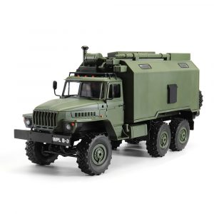 Radiostyrd RC Militär lastbil . 6WD Rock Crawler