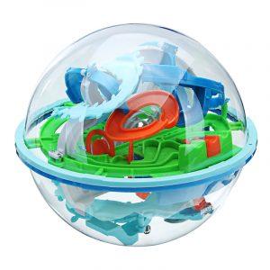 3D Magic 138 nivåer labyrint rullande boll pusselspel hjärn teaser barn lärande pedagogiska leksaker