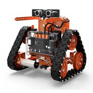 WeeeMake DIY 6 I 1 WeeeBot Evolution Smart RC Robot bil Kit Programmerbar APP Control Pedagogiska Kit