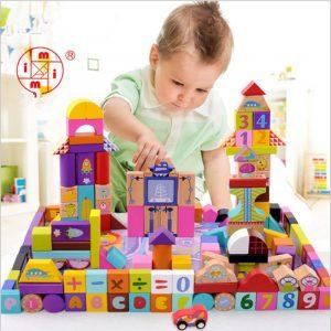 160 babyer kan läsa leksaker tegel trä 1-2-3-6 år barn fördelaktiga intelligens leksaker