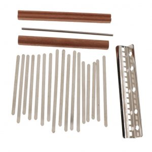17 Key DIY Kalimba Thumb Piano Finger Percussion Parts