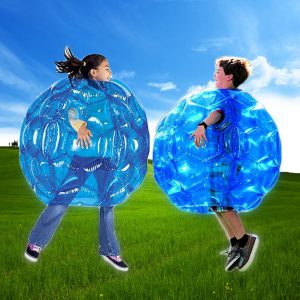 90 cm PVC Uppblåsbara Toy Body Bubble Toy Ball Bumper Ball Fotboll Buddy barn Outdoor Play