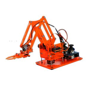 DIY Färgrikt Mekanisk Robot Arm Kit med Infraröd Controller Metal Servo för Arduino