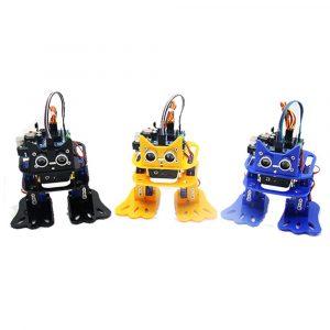 LOBOT DIY 4DOF Walking RC Robot Arduino Mixly Grafisk Programmering Bluetooth Control Smart Robot Toy