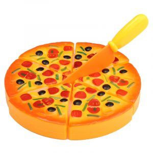 Barn Barn ABS Plast Pizza Skivor Toppings Simulering Kök Spela Matleksaker