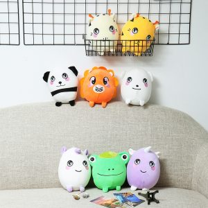 22cm 8.6Inches Stor Squishimal Stor Storlek Fylld Squishy Toy Slow Rising Present Collection Heminredning