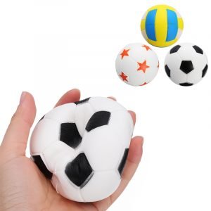 Jumbo Fotboll Volleyboll Squishy Långsam Rising Söt Telefonband Sport Ball Fun barn Toy