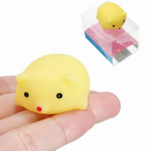 Gris Squishy Squeeze Gullig Mochi Healing Toy Kawaii Collection Stress Reliever Present Inredning